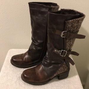 Muk Luks Brown Boots Size 6